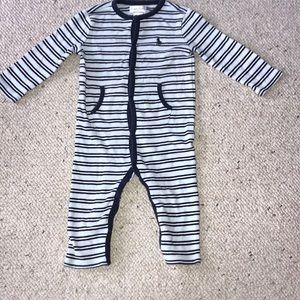 Striped one piece coverall Ralph Lauren